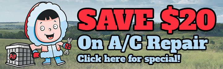Save $20 on AC Repair in The Woodlands